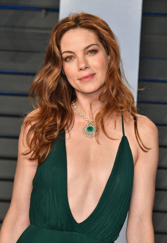 Michelle Monaghan Attended 2018 Vanity Fair Oscar Party