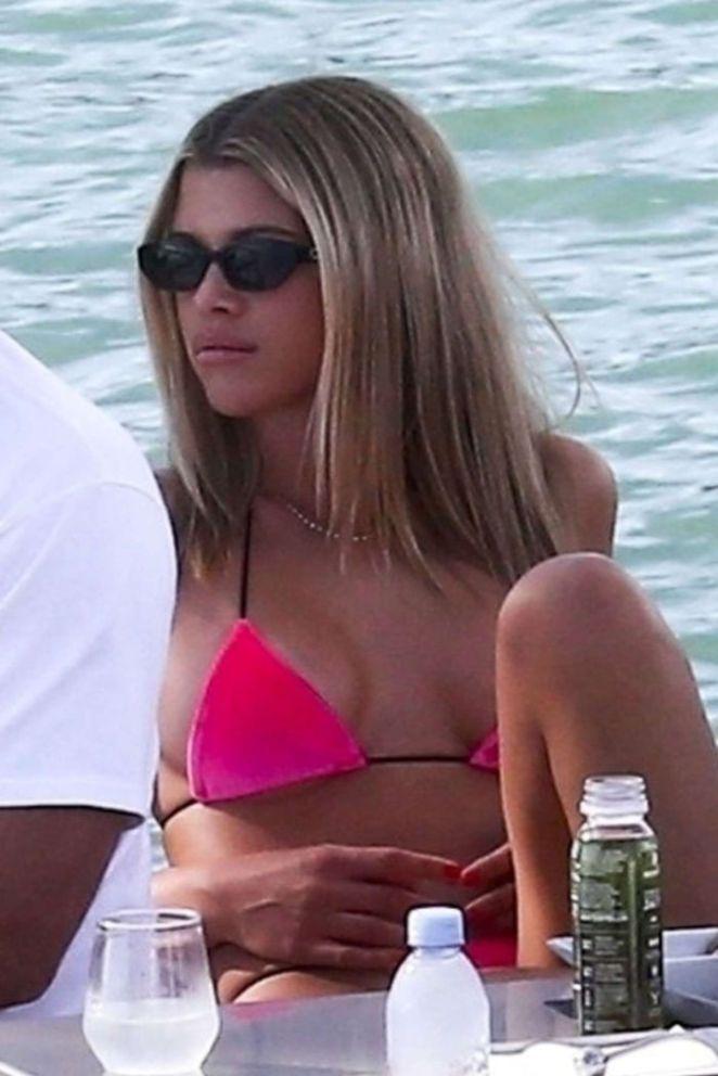 Sofia Richie Candids In Bikini On A Yacht In Miami