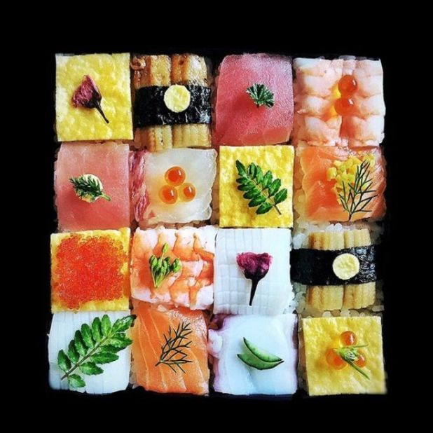 The New Mosaic Sushi Food Art From Japan