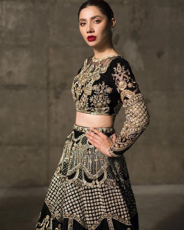Beautiful Mahira Khan Slays In Black Outfits