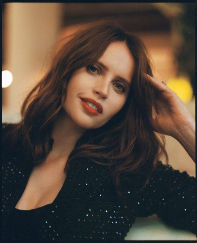 Gorgeous Felicity Jones Photoshoot For Bustle Magazine (January 2020)