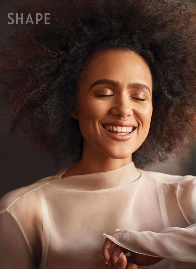 Nathalie Emmanuel Featured In Shape Magazine (May 2020)