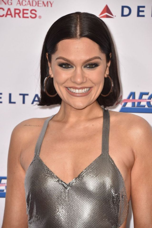 Jessie J Glitters At 2020 Musicares Person Of The Year Honoring Aerosmith Event
