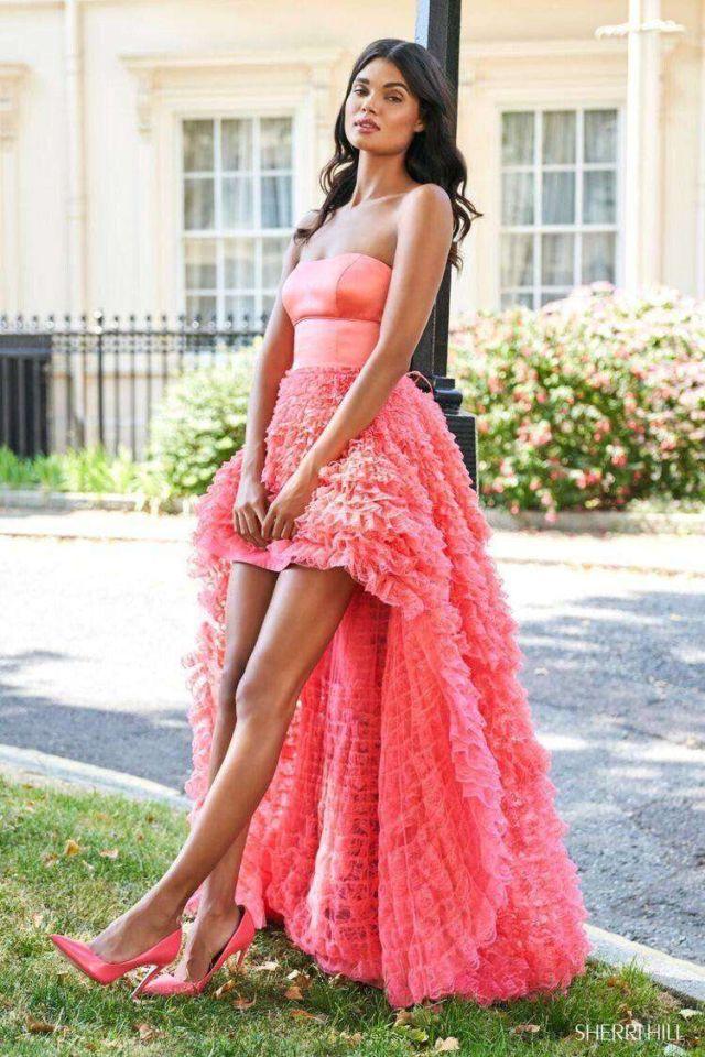 Gorgeous Daniela Braga Shoots For Sherri Hill Campaign 2020