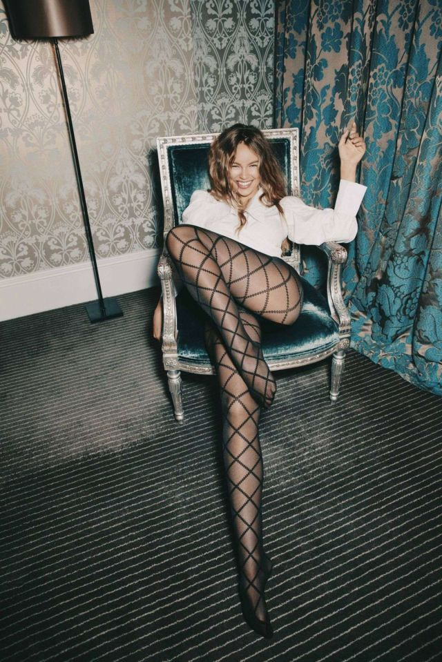 Emma Louise Connolly In A Classic Shoot For Calzedonia