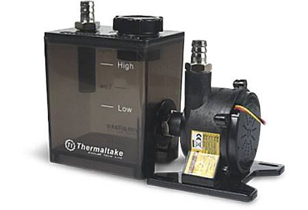 Internal DIY Liquid Cooling System