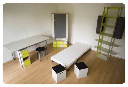 Compact Furniture in One Small Box