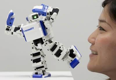 I-Sobot, World's Smallest Humanoid Robot