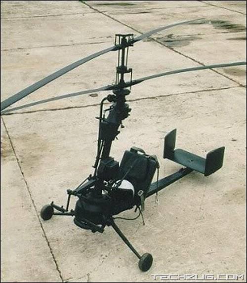Amazing Ka-56 Portable Helicopter