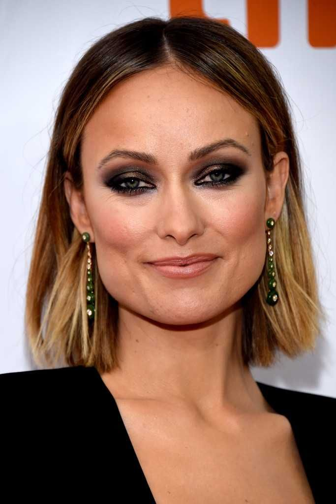 Olivia Wilde In Black Attends The 'Life Itself' Premiere