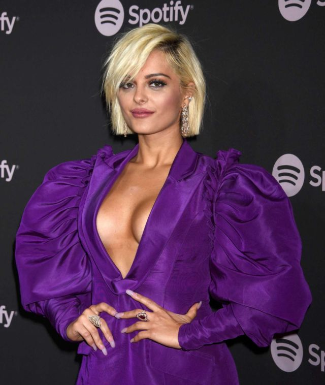 Bebe Rexha Attends Spotify 'Best New Artist 2019' Event In LA
