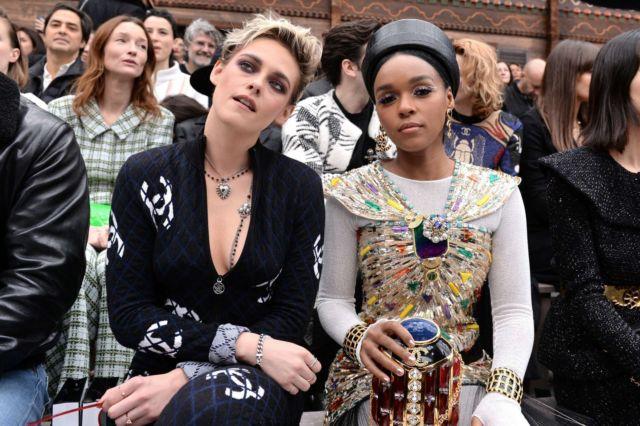 Kristen Stewart Spotted At Chanel Show In Paris Fashion Week