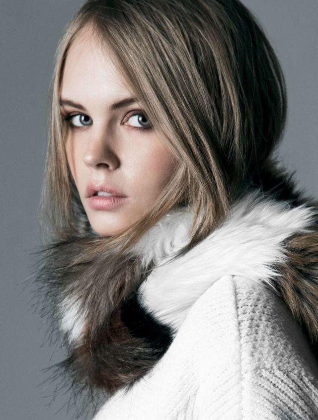 Anastasiya Scheglova Poses For A Latest Photoshoot