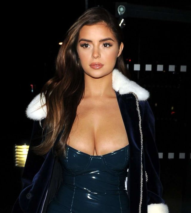 Demi Rose Mawby Out With A Friend In London
