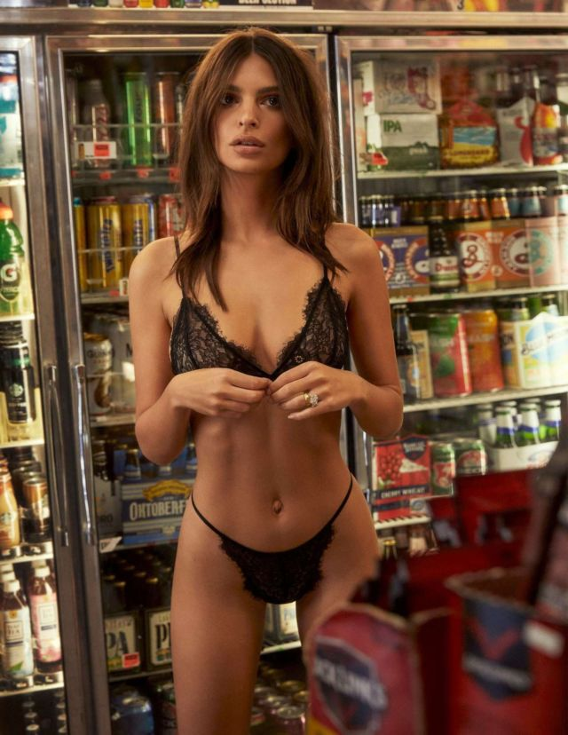 Emily Ratajkowski Shoots For Inamorata 'Body' Collection