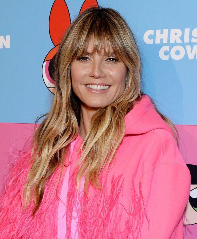 Heidi Klum Attends The Christian Cowan x The Powerpuff Girls Event