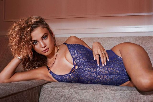 Rose Bertram Shoots For Savage X Fenty Spring/Summer 2019 Lingerie