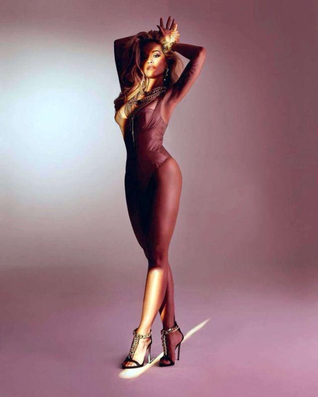 Rita Ora Shoots For Giuseppe Zanotti Shoe Campaign 2019