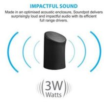 Portronics POR 280 Sound Pot Wireless Bluetooth Speaker Rs