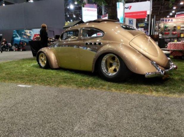 Custom European Cars At The SEMA Auto Show, Las Vegas