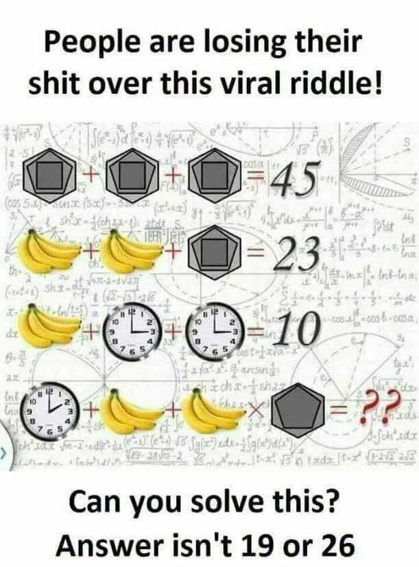 Can You Solve This Viral Riddle Of 2018?