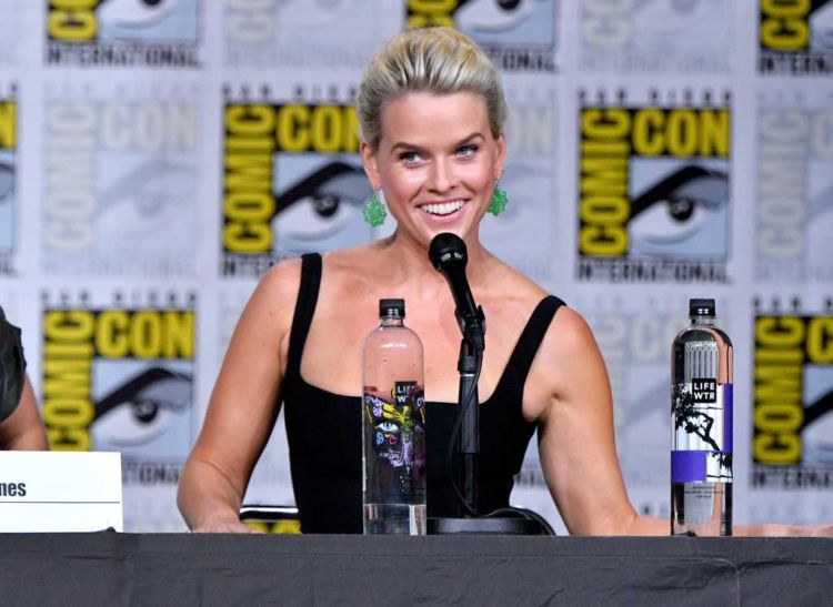 Alice Eve Attends Marvel's 'Iron Fist' Panel Meeting During Comic-Con 2018