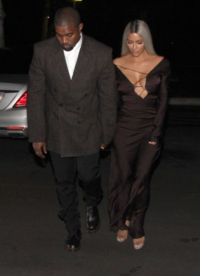 Kim Kardashian Movie Out For A Date Night In L.A.