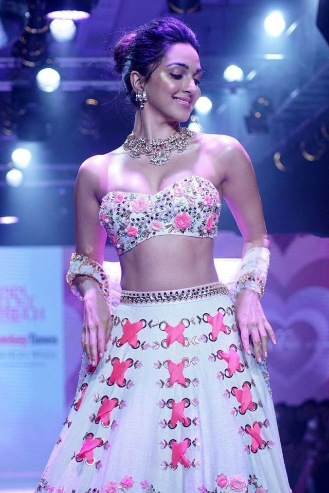 Kiara Advani Was A Beautiful Showstopper For Designer Subhika