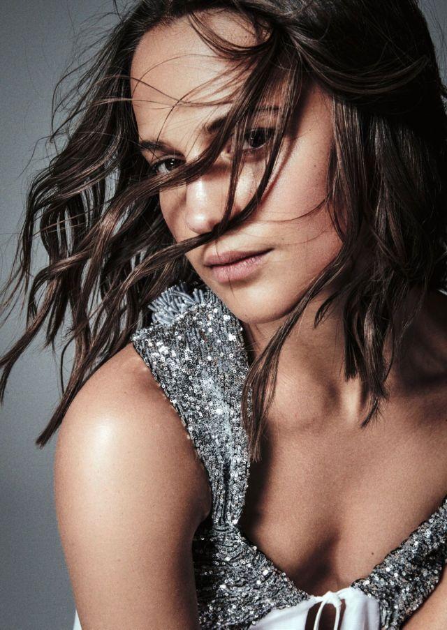 Alicia Vikander's 2018 Photoshoot For Madame Figaro