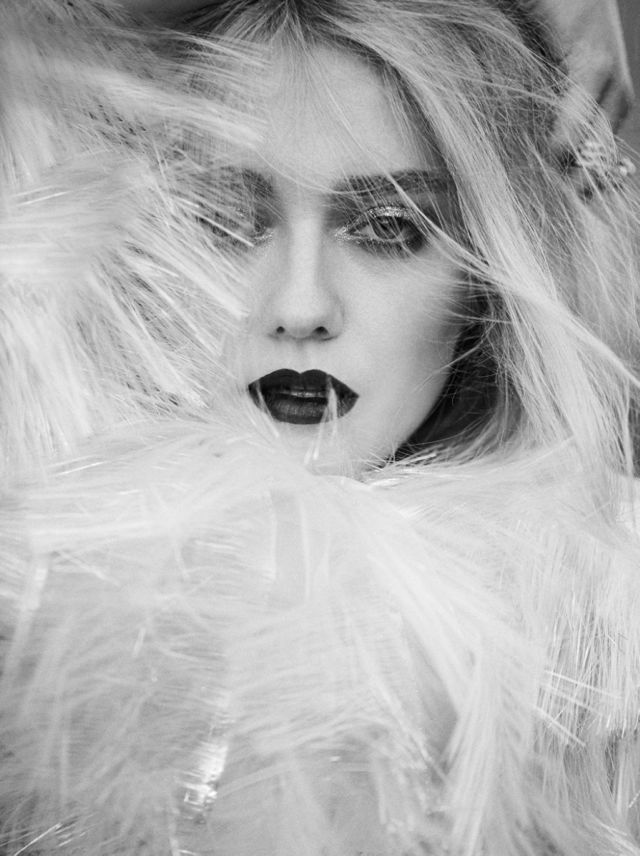 Dakota Fanning Dazzle For C Magazine Photoshoot