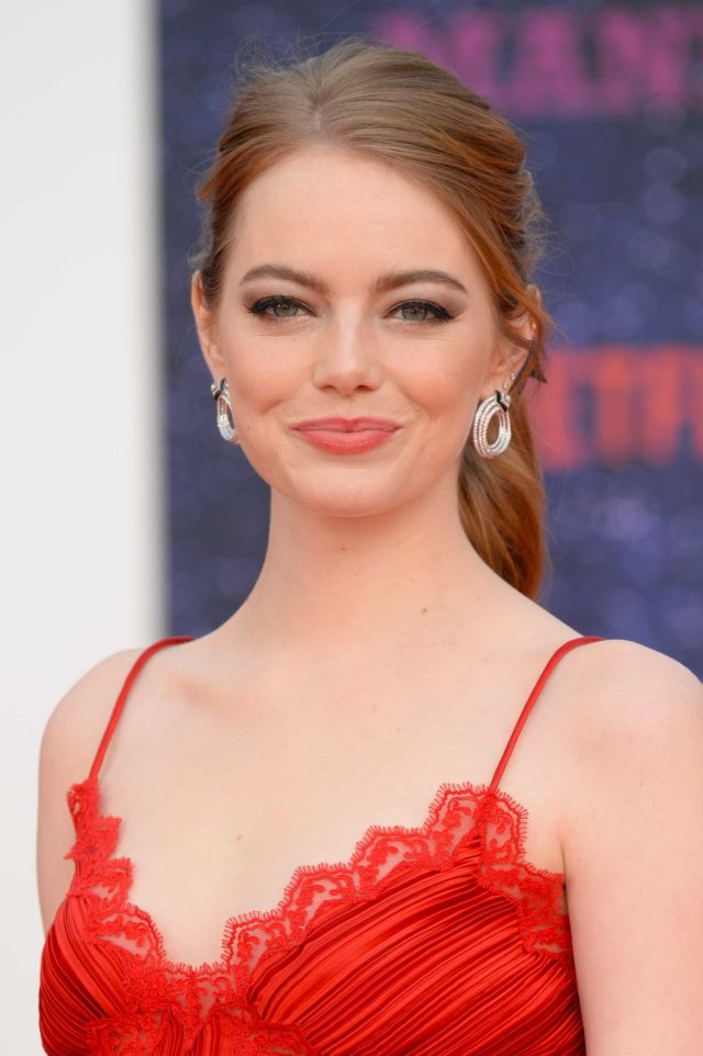 Gorgeous Emma Stone Attends The Premiere Of Netflix Series 'Maniac'