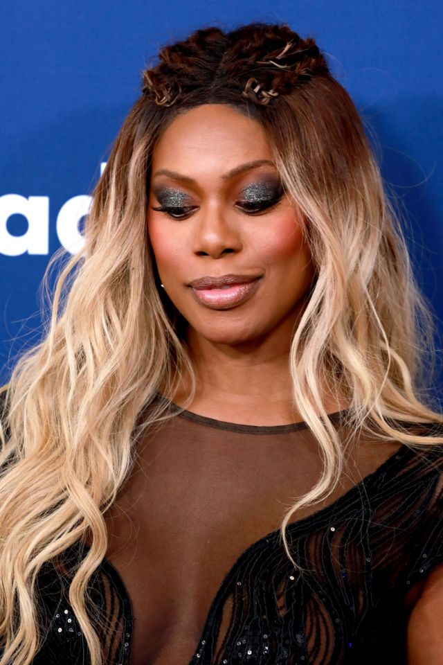 Laverne Cox Attends The 2018 GLAAD Media Awards