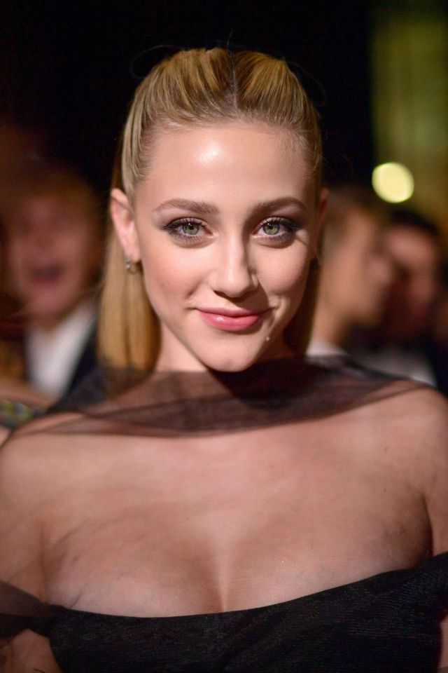 Lili Reinhart Dazzles At The Art Of Elysium's 12th Annual Celebration