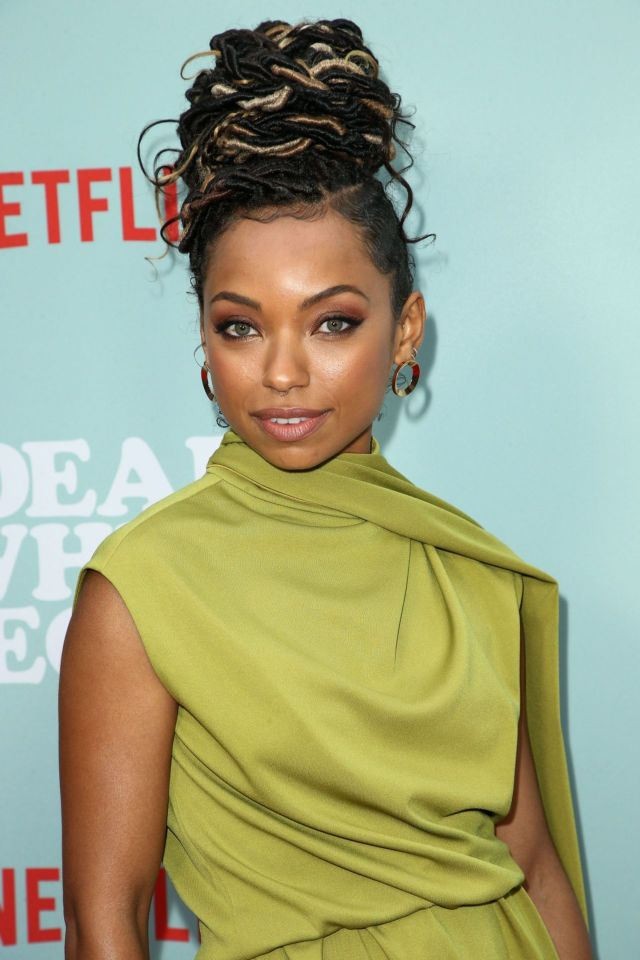 Logan Browning Dazzles At The 'Dear White People' TV Show Premiere