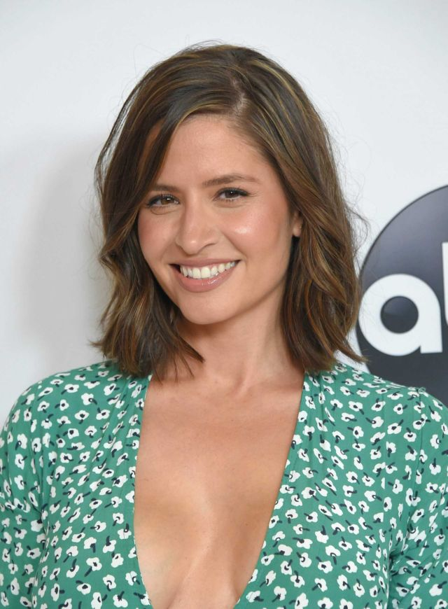 Gorgeous Mercedes Mason Attends ABC All-Star Happy Hour