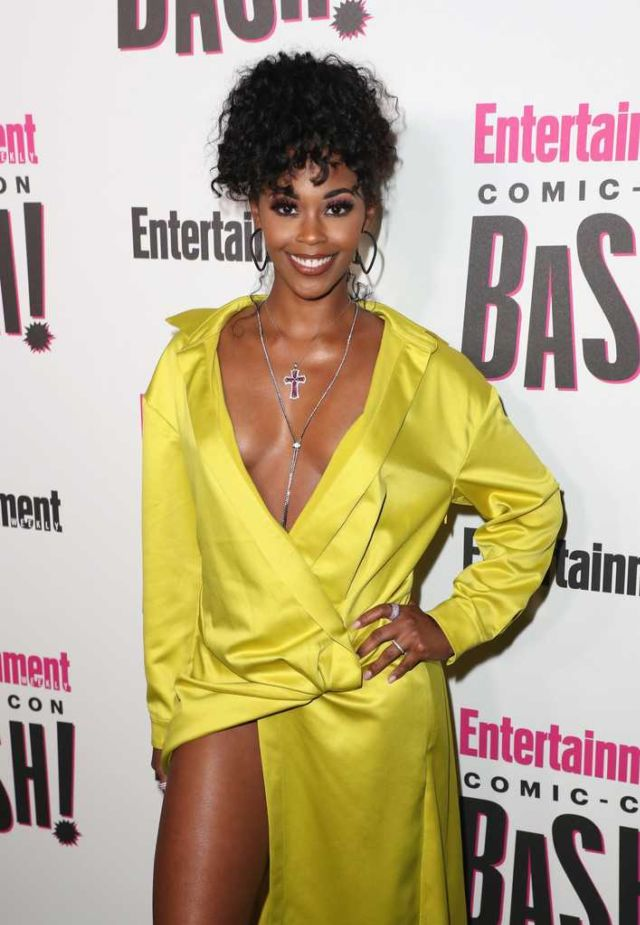 Nafessa Williams At The Entertainment Weekly's Comic-Con Party