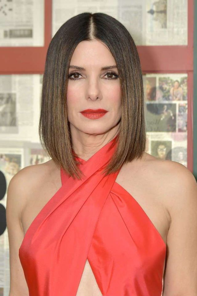 Gorgeous Sandra Bullock Attends The Screening Of 'Bird Box'