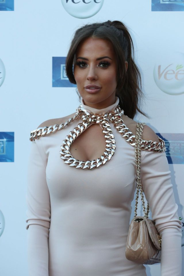 Yazmin Oukhellou Attends 'The Only Way Is Essex' TV Show Premiere