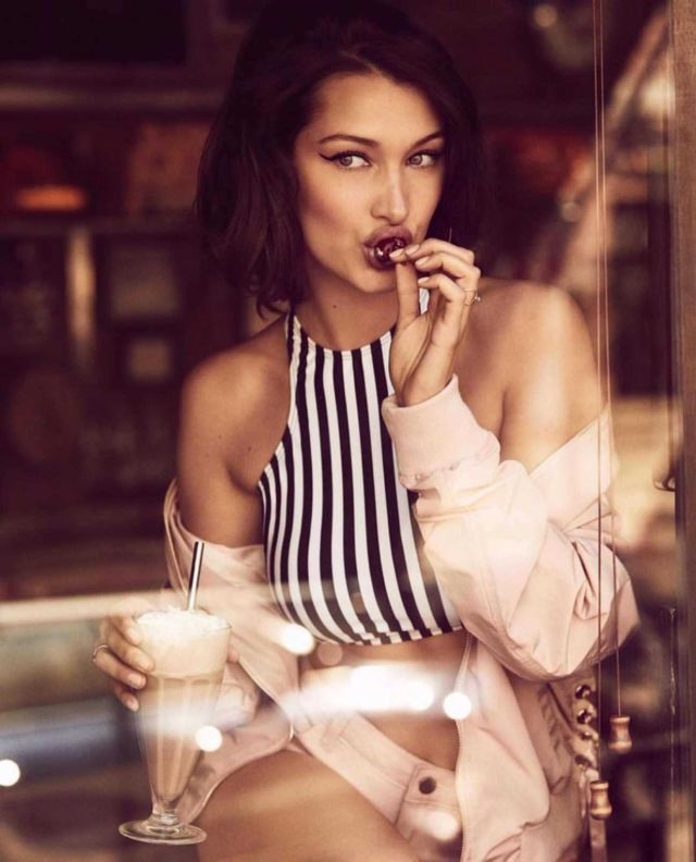 Bella Hadid Photoshoot For Penshoppe Spring-Summer 2018