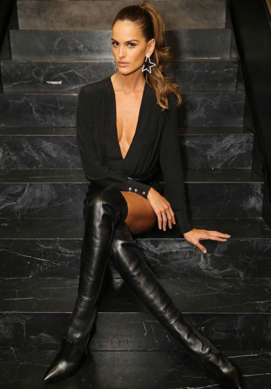 Izabel Goulart's Dazzling Photoshoot At The Blanc Store