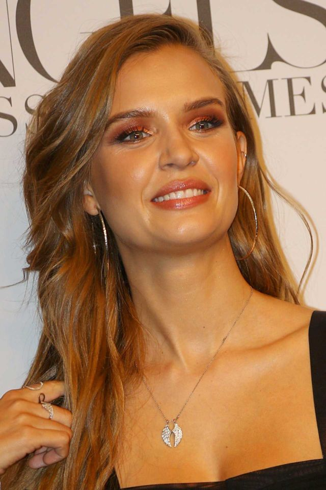 Josephine Skriver Attends 'Angels' By Russell James Book Launch