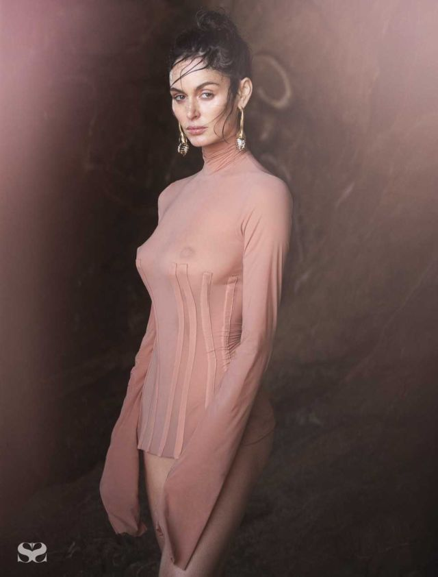 Nicole Trunfio Shoots For Latest Issue Of RUSSH Magazine 2018