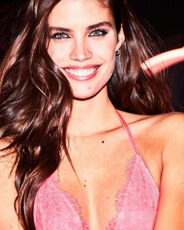 Sara Sampaio Poses For Victoria's Secret Lingerie Shoot 2019