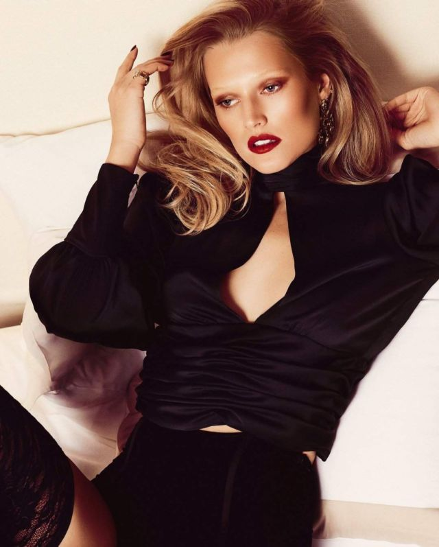 Toni Garrn Glams Up GQ South Africa
