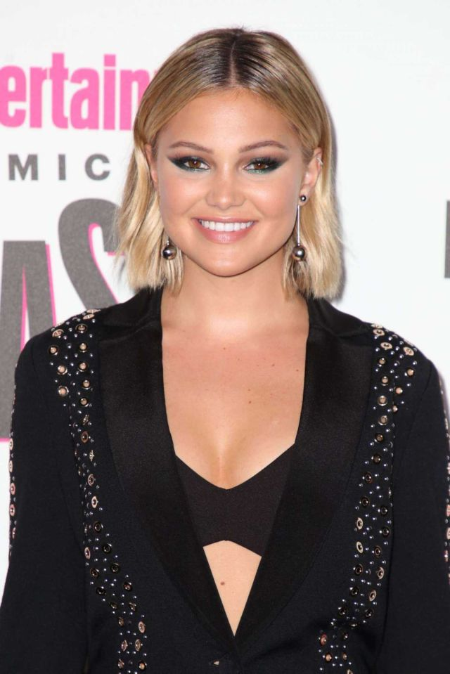 Olivia Holt Shines In Black At Entertainment Weekly's Comic-Con 2018 Party