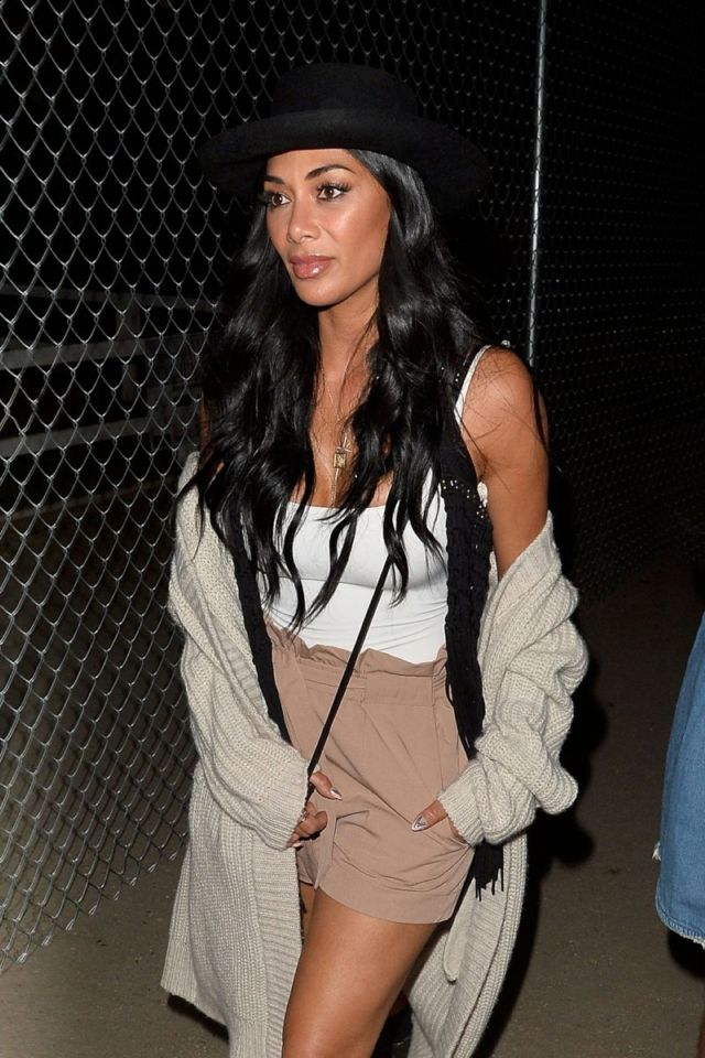 'Nicole Scherzinger Arrived At Neon Carnival At Coachella