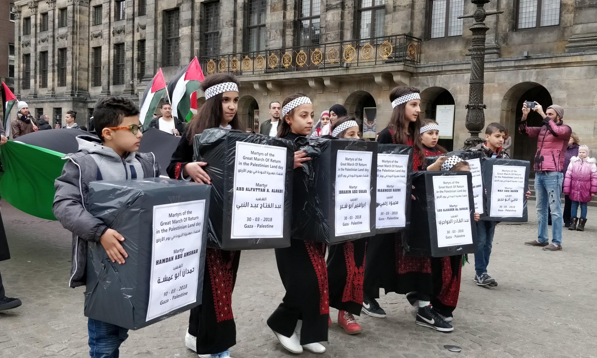Landdagmanifestatie Amsterdam 31 maart 2018