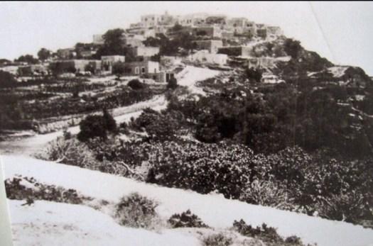 Oude foto van Iqrit