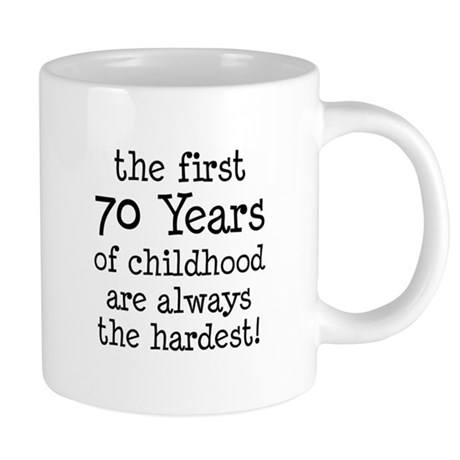Funny 70th Birthday Mug - 70th Birthday Gift Ideas for Women