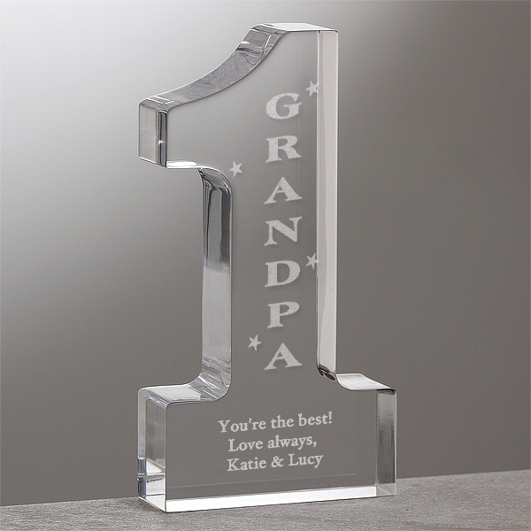 #1 Grandpa Keepsake - 70th Birthday Gift Ideas for Grandpa